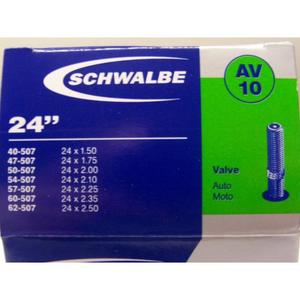 Schlauch Schwalbe (24x1,75-2,125) 10 AV-Ventil