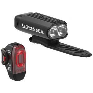 Fahrradlichtset Lezyne Micro Drive 600XL/KTV Pro 2021