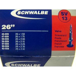 Schlauch Schwalbe (26x1,5-2,5) 13 SV-Ventil