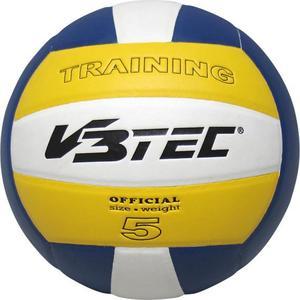 Volleyball V3Tec Training gelb-blau-weiß