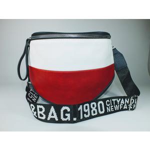 DamentascheTasche Damen Gürteltasche Bauchtasche Rot Weiß Blau
