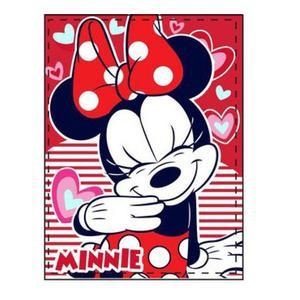 Minnie Mouse, Disney, Fleecedecke,90 x 120 cm