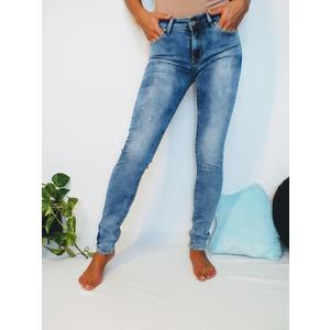 Jeans Damen Denim Skinny Blau