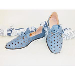 Blaue Damenschuhe Gita