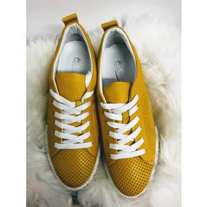 Gelbe Damenschuhe