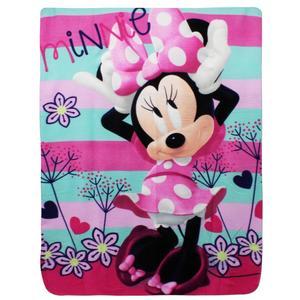 Mickey Mouse - Fleecedecke Decke - Minnie Mouse - 100 x 140 cm