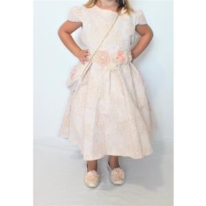 Mädchen Kleid Festlich Einschulung Blumenmädchen Hochzeit Kommunion Pink