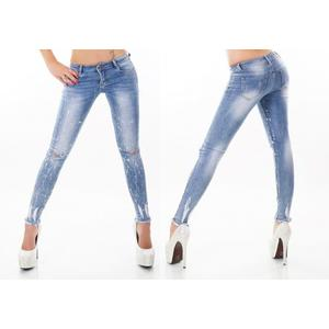 Jeans Blue Washed Jeans