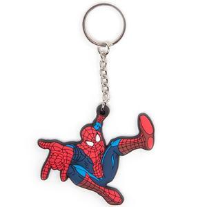 Spiderman Gummi-Schlüsselanhänger - Keychain (offiziell lizenziert)
