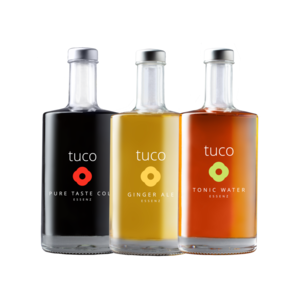 tuco Tri Colore Sirup 3x500ml (Cola, Ginger Ale, Tonic Water)