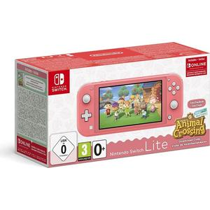 Nintendo Switch Lite - Animal Crossing: New Horizons Bundle koralle