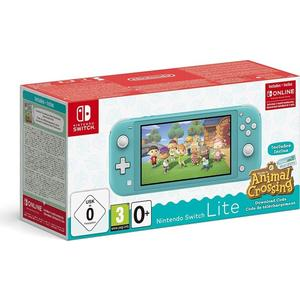 Nintendo Switch Lite - Animal Crossing: New Horizons Bundle türkis