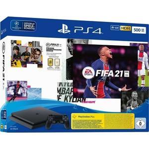 Sony PlayStation 4 Slim - 500GB FIFA 21 Bundle schwarz (9828723)