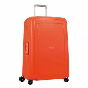 Samsonite S'CURE SPINNER 75/28 Fluo Red Capri