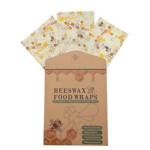 3er Set Bienenwachstücher Größe L,M,S - Wachstücher 100% Natürliche Inhaltsstoffe - Die Wiederverwendbare Alternative zu Frischhaltefolie - Bienenwachstuch