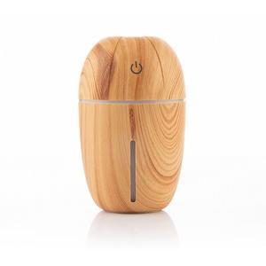 Mini-Humidor Aroma Diffusor - LED Luftbefeuchter mit Wooden Effect Duftzerstäuber - Diffuser