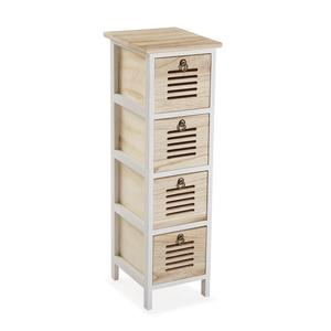 Container Tani Paulonia-Holz (25 x 78 x 34 cm) - Schrank - Kommode - Kästchen - Kasten - Regal