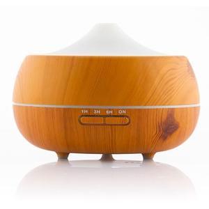 LED Luftbefeuchter mit Wooden Effect Duftzerstäuber - Diffuser