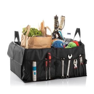 Faltbarer Kofferraum-Organizer Auto Carry - Kofferraum Zubehör große Falttasche mit Klett - Autotasche - Kofferraumtasche