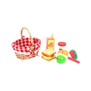 Small Foot Picknickkorb mit Schneide-Lebensmittel