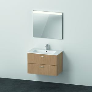 Duravit X Base Möbelset mit Spiegel 830 mm eiche