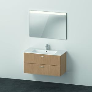 Duravit X Base Möbelset mit Spiegel 1030 mm eiche