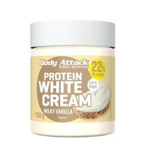 Body Attack Protein White Cream Milky Vanilla