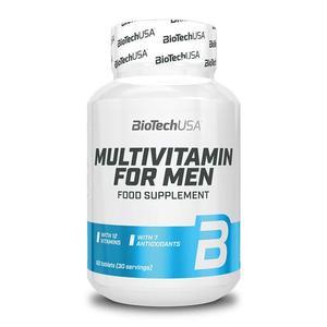 Biotech USA Multivitamin for Men 60 Tabletten