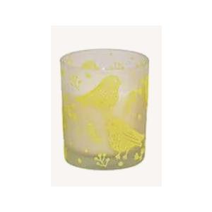 Oster - Windlicht mit Wachs aus Glas