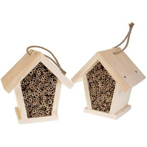 Wildbienen - Insekten Hotel