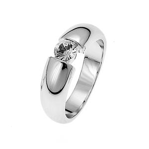 Ring Solitaire RH CRY M