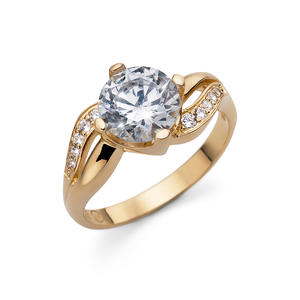 Ring Success 925AG GP CZ CRY S