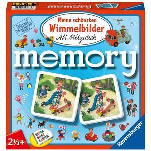 Ravensburger 81297 - Meine schönsten Wimmelbilder Memory der Spieleklassiker für alle Wimmelbilder Fans, Merkspiel für 2-4 Spieler ab 2 Jahren Marke: Ravensburger Kinderspiele