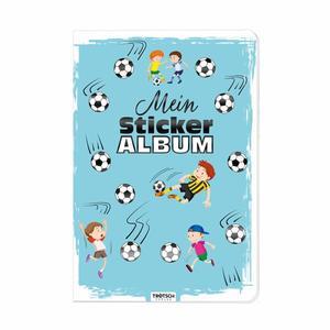 11831N Mein Stickeralbum Fußball, 24 Seiten, ca. 15x21cm, Trötsch Verlag