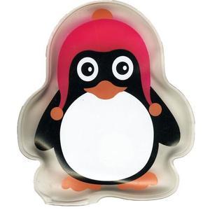 55978 Tachenwärmer Pinguin rosa, ca.10x8cm, wiederverwendbar