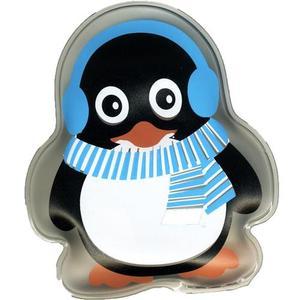 55978 Taschenwärmer Pinguin blau, ca. 10x8cm, wiederverwendbar