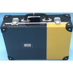 49063 Handarbeitskoffer, Allzweckkoffer, BE-CÖÖL, schwarz-gelb, ca. 33x23x10cm,