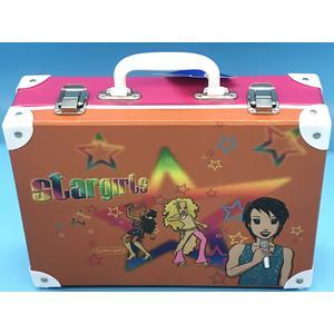49576 Handarbeitskoffer, Allzweckkoffer, Stargirls, ca. 33x23x10cm,