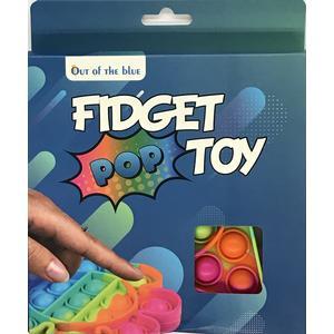 61/6646 Fidjet Pop Toy, Regenbogen Stern