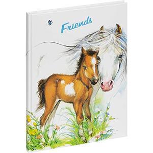 20356-15Freundebuch Friends Pferde Horse, ca. 14,5x22cm,