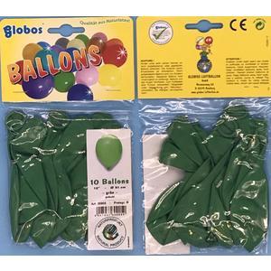 Luftballon 2x10 Stück Farbe: grün, (20 Stück) ca. 31cm