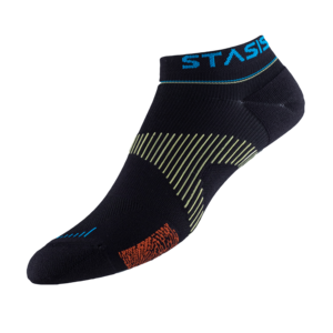 Neurosocks - VOXX STASIS ATHLETIC NO-SHOW schwarz - Größe M