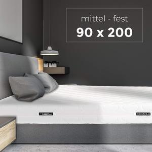 KOOAHLA 90x200x20cm Wendematratze – MITTEL/FEST