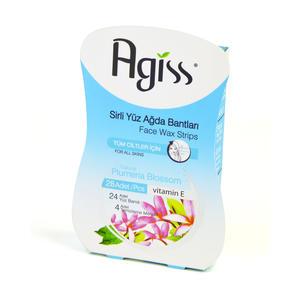 Agiss Wachsstreifen für alle Hauttypen - 28 Streifen
