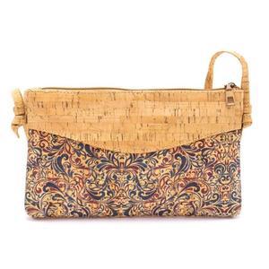 Tasche für Damen, klein, Umhängetasche, aus Kork, vegan, vintage, bunt, aus Portugal