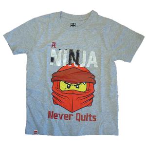 Lego T-Shirt grau Wendepailletten Ninjago - Variante
