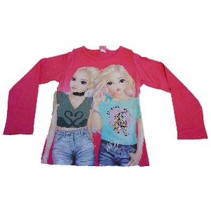 Top Model Shirt Langarm pink