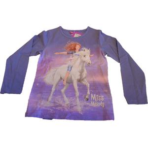 Miss Melody Shirt Langarm blau