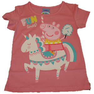 Peppa Pig T-Shirt Shirt pink rosa -98