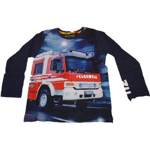 Bondi Shirt Langarm Feuerwehr - Variante